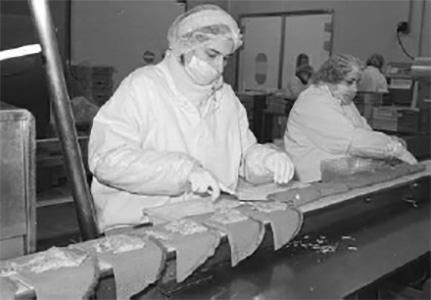 Production de galettes